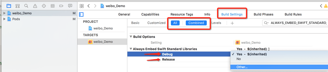 target-overrides-the-always-embed-swift-standard-libraries-build-setting-1